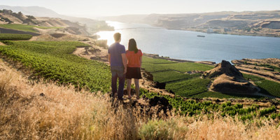 Columbia Gorge Wine Tasting Area