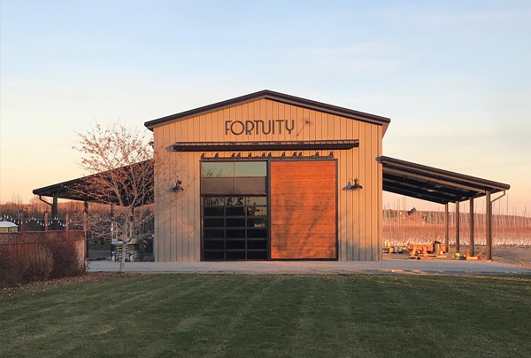 Fortuity Cellars - Opening Spring 2020